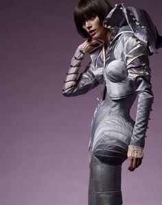 Scherer González - Couture from Berlin, #fashion, #futuristic, #dress