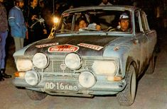"""moskvich-412 at rally """"Tour d'Europe"""""""