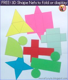 Are you teaching about shapes this term? Use these free printable nets of the cube, cuboid/rectangular prism, cone, cylinder, square. Frog Theme, Bee Theme, Fourth Grade, Third Grade, Sixth Grade, Book Bin Labels, Polka Dot Theme, Reading Tree, Cvce Words