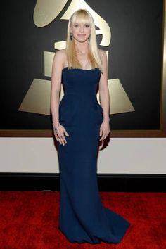 Anna Faris at the 2014 Grammys