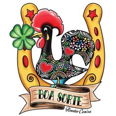 BOA SORTE - New shirt Design by Rooster Camisa. CLICK TO PRE ORDER TODAY!  www.RoosterCamisa.com
