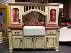 Dollhouse Miniature Furniture - Tutorials | 1 inch minis: How to make kitchen…