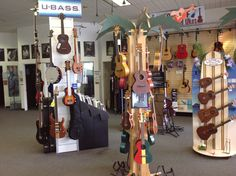 Ukuleles! Visit our stores or go online to check out our selection of Ukes. www.bertrandsmusic.com.