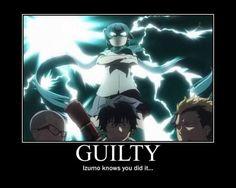 AoEx: Izumo Motivational by animyx on DeviantArt Blue Exorcist Funny, Blue Exorcist Anime, Ao No Exorcist, I Love Anime, Anime Guys, Manga Anime, Anime Art, Fullmetal Alchemist, Rin Okumura