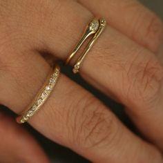 14K Yellow Gold Ring - n+a new york http://nandanewyork.bigcartel.com/product/r008-14kyg  R008 R001 R003