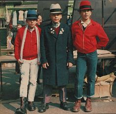 Miniature skinheads. Date unknown.