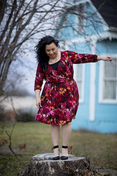 4343df6fb92 We re Inspired By... Vera for Gwynnie Bee Plus Size Dresses