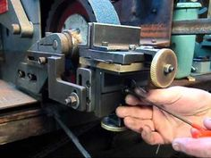 KNIFE HOLLOW GRINDING JIG on a belt grinder for knife making ,Pheer Grinders - YouTube