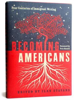 becoming americans - book cover design by de vicq