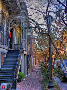 Savannah Street | Flickr - Photo Sharing! --- Loved Savannah, but didn't have enough time there. Would love to go back.