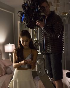 Behind the scenes with Chanel #2, Ariana Grande!