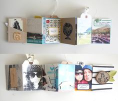 Scrapbooking Kits, Paper & Supplies, Ideas & More at StudioCalico.com! Digital template mini album sandlot