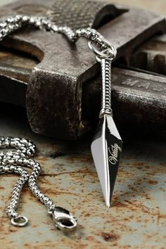 Vitaly's stainless steel necklace is made to perfection from start to finish.