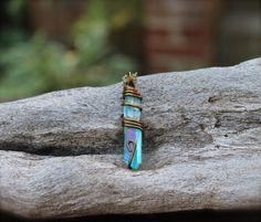 Titanium Aura Quartz Jewelry  Bohemian by MermaidTearsDesigns