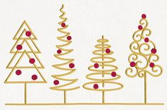 Classic Christmas Border | Urban Threads: Unique and Awesome Embroidery Designs ~ All sizes and hand, November 25, 2015