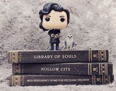 Miss Peregrine trilogy. My first ever bookstagram picture over on my Instagram [ littlereaderxoxo ]