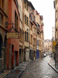 Street in old Lyon