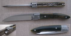 couteau liner mammouth / mitres damas mosaïque