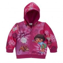 Dora the Explorer Toddler Girl's Sublimated Hoodie 2T