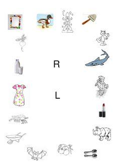 Diferentierea sunetelor R – L în pronunție, scris și citit | Cabinetulpsihologului.ro 4 Kids, Kids Education, Activities For Kids, Kindergarten, Childhood, Letters, Learning, Google, Bebe