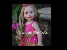 Harmony Club Dolls Spring Style that fits American Girl. Visit our online store at www.harmonyclubdolls.com