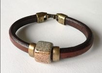 Loving our new leather bracelet www.trulyirishcraft.com