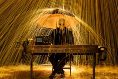 "STEEL WOOL PHOTOGRAPHY – ""COLD WAR STYLE"""