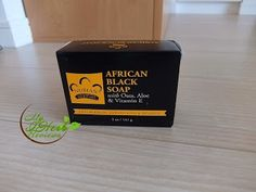 Nubian Heritage, African Black Soap
