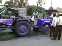 Funny Tractor rescue operation http://www.agromachinery1.com/video_listing/funny-tractor-rescue-operation/