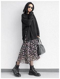 40 Elegant Women Fall Fashion Everyone Will Fall In Love Home in Fashion korean fashion Celebrity Style Dresses, Celebrity Style Casual, Celebrity Fashion Outfits, Celebrity Style Inspiration, Style Outfits, Mode Outfits, Grunge Outfits, Grunge Clothes, Celebrities Fashion