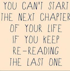 Don't let old habits, past mistakes, and tried-and-true excuses keep you from starting your next chapter!