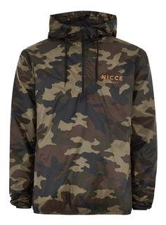 2f3b2fb5f785 Herren MULTINICCE LONDON Jacke mit Camo-Design khaki    mode  herrenmode   modefürherren