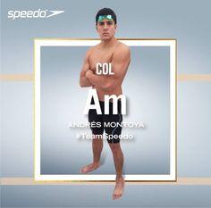 Te presentamos a Andrés Montoya atleta Team Speedo Colombia. Obtuvo oro en los juegos centroamericanos y bronce en los juegos suramericanos. Campeón nacional en 50,100 y 200 mariposa. #TeamSpeedoCol