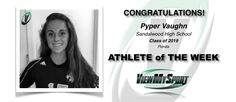 Congratulations to this week's ViewMySport ATHLETE of THE WEEK - PYPER VAUGHN - Lacrosse - Class of 2019 - Sandalwood High School (FL)... GREAT JOB PYPER!  ViewMySport.com - Your #1 College Sports Recruiting &  Scholarship Networking Resource!  https://www.viewmysport.com/r-1137-pyper-vaughn-lacrosse
