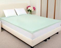 Sleep Studio Sleep Joy® 2″ ViscO2 Green Tea Memory Foam Mattress Topper, Full at http://suliaszone.com/sleep-studio-sleep-joy-2-visco2-green-tea-memory-foam-mattress-topper-full/