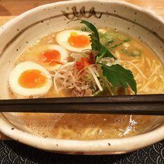 セミナー前に今日の一杯 #京都 #ラーメン #麺匠たか松