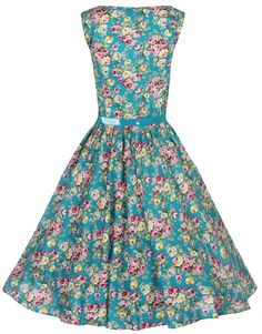 Lindy Bop Women's Audrey Hepburn 1950's Rockabilly Dress at Amazon Women's Clothing store: