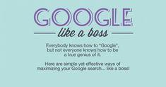 Infographic: Googlen als een baas!