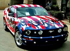 Happy July 4th / Mustang