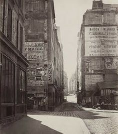 Charles Marville | Charles Marville, Rue Saint Jacques