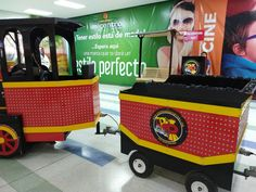 Venta de Trenes para centros comerciales EXPRESSO AVENTURA Adventure, Shopping Malls, Electric Motor, Trailers, Trains