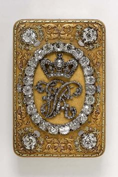 Mastery of Design: A Gold and Diamond Snuffbox given by Queen Victoria to Colonel Harcourt in 1837The Victoria Albert Museum