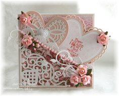 Our Daily Bread Designs, ODBD February 2014 Release, ODBD Clean Heart, ODBD Custom dies Ornate Hearts, Beautiful Borders