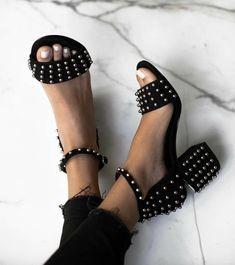 studded sandals @dcbarroso