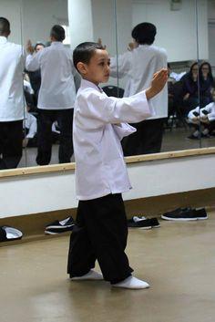Basic Wing Chun stance.