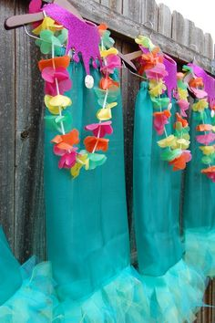Mermaid tutu for party guests