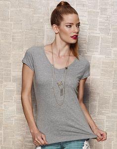 Stars by Stedman Megan V-Neck T-Shirt bei MPS MarkenPreisSturz.de  Wir bedrucken und besticken auf Wunsch günstig Ihre Bekleidung.