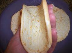 SCD White Bean Tortillas (*Use baking soda not powder...)