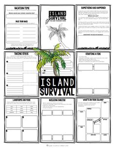 Project Based Learning Activity: Island Survival (PBL