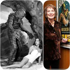 Julie Adams born October 17, 1926 Happy 90th Birthday Photos (L-R): Creature from the Black Lagoon (1954), credited as Julia Adams ~ with Ben Chapman Attending the Academy of Motion Picture Arts and Sciences' Screenings of 'Creature from the Black Lagoon' & 'The Invisible Man' at AMPAS Samuel Goldwyn Theater on October 16, 2012 in Beverly Hills https://en.m.wikipedia.org/wiki/Julie_Adams